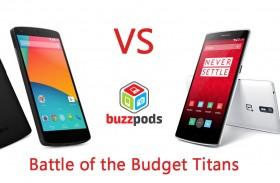 OnePlus One vs Nexus 5 – Battle of The Budget Titans