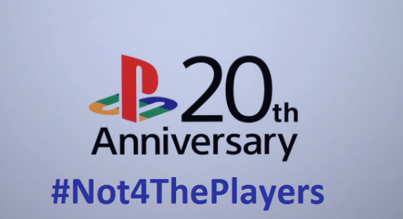 Playstation Anniversary Competition- #Not4ThePlayers