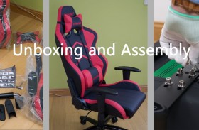 AK Racing eSports Gaming Chair – Unboxing & Assembly
