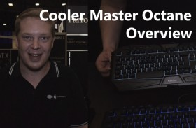Cooler Master Octane Gaming Keyboard Overview