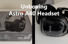Astro A40 Headset Unboxing