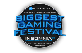 Insomnia Gaming Festival – We will be there